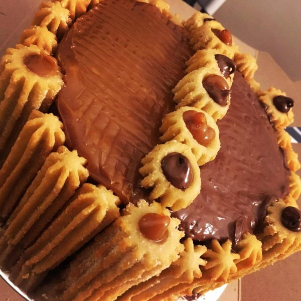 gâteau de churros moitié moitié